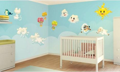 Decorazioni Per Camerette Per Bambini : Pitture per camerette ragazzi foto pittura camerette per bambini